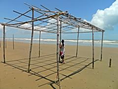 Model: Debalina Das (Sougata2013) Tags: sea people india monsoon westbengal bayofbengal digha seabeach mandermoni bengalseabeach