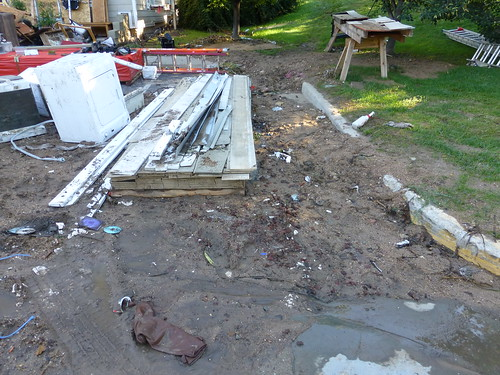 Photo - Boulder Flood Trash and Debris