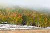 San Juan Barn (Amy Hudechek Photography) Tags: autumn snow fog barn fence colorado getty gettyimages sanjuanmountains happyphotographer mygearandme amyhudechek