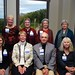 "<b>1963 #5</b><br/> Front Row: Carolyn (Lickfett) Seidelmann, Phyllis (Dankers) Yes, George Wallman, Carol (Hoeg) Oliver. Back Row: Lori (Oppen) Gard, Lullo (Elvebak) Lindstrom, Gretchen (Looft) Moen, Onalee (Crissinger) Fuchs <a href=""http://farm4.static.flickr.com/3809/10422648263_35bf729aa7_o.jpg"" title=""High res"">∝</a>"