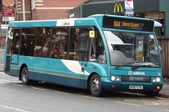 Arriva Midlands North Optare Solo 2554 (W287 EYG) (Wednesfield)
