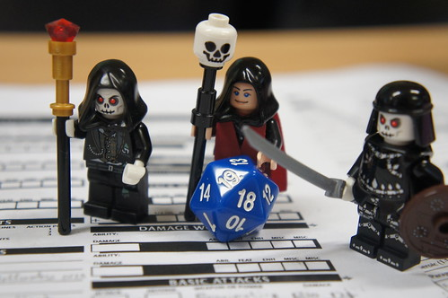Lego Dungeons and Dragons - Our first st by Marco Hazard, on Flickr