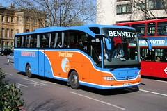 Bennetts - EV10  BUS (Solenteer) Tags: mercedesbenz hydeparkcorner tourismo bv10zjn ev10bus bennettsgloucester vision:outdoor=0689 vision:car=0732