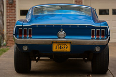 68 Fastback and 2012 5.0 (4 of 65).jpg (Beardsley K. Bones) Tags: auto classic car automobile muscle 1968 mustang gt 50 2012 68 fastback