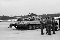 Ex-Iraqi T-72 (rjl6955) Tags: airforcereserve 1991 hanscomafb airforcebase lexington massachusetts c5a af690005 433rdmaw militaryairliftwing 433maw lockheedgeorgia lockheedmartin galaxy t72 hanscomairforcebase afb c5