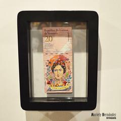 """""""Viva la Frida"""" (Mariely Hernndez) Tags: art arte ilustraciones exposicin aragua gabrielachacnestrada espacioanan gabiabi algomixtico"""