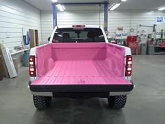 Pink Truck Bed Liner