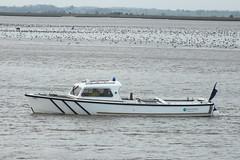 Broads Authority boat #1 (Moldovia) Tags: uk greatbritain england river boat europe unitedkingdom norfolk eu gb pointandshoot greatyarmouth europeanunion pointshoot eastanglia norfolkbroads riveryare broadsauthority fujifilmfinepixhs20exr