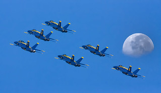 Blue Angels Once in a Blue Moon