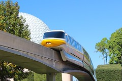Monorail and Spaceship Earth