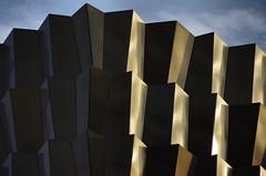 Berlin - abstracty buildings (Sallyrango) Tags: city urban abstract berlin architecture germany design europe alexanderplatz lightandshadow midcenturymodern 1960sarchitecture sixtiesdesign architecturalabstract citydesign