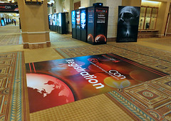 Entertainment, Caesars Entertainment at CinemaCon, Carpet Graphic