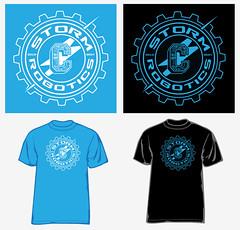 Storm Robotics 2 (1SHTAR) Tags: sports shop print logo design screenprint graphic screen tee apparel