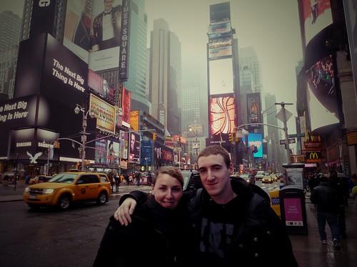 Avec Henri, Times square, New York, USA