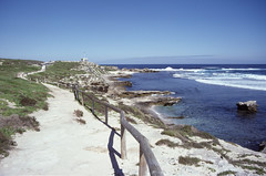 Australia (scuba_dooba) Tags: australia film ektachrome 200 flatbed scan scanner scanning epson gt7000 gt 7000 photo nikon fe 35mm slides indian ocean sea beach bay path coast reel2