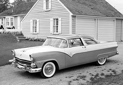 1955 Ford Fairlane Crown Victoria (Railroad Jack) Tags: