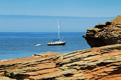 Hilbre Island Yacht (David Chennell - DavidC.Photography) Tags: yacht wirral hilbreisland liverpoolbay wirralcoast