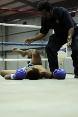 Knockout (encikgalah (umark munauwar)) Tags: knockout boxer boxing counting kedah muaythai tomoi cempaapi kejohanantomoikedah