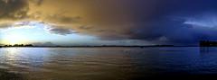 Levé de soleil sur Boédic et Arz (Jack-56) Tags: france sunrise nikon bretagne arradon golfedumorbihan iledarz d700 iledeboédic