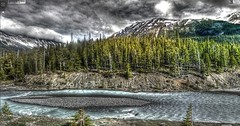 Google Street View - Pan-American Trek - The Northern Rocky Mountains (kevin dooley) Tags: street canada ice trek river google highway bc view columbia des 93 hdr icefields panamerican sunwapta photomatix parkway street view columbia british google promenade glaciers icefields