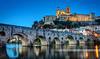 Béziers son pont vieux et St Nazaire