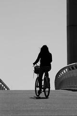 On ne va jamais aussi loin que lorsqu'on ne sait pas où l'on va... (NUMERIK33) Tags: bike bordeaux explore pont velo