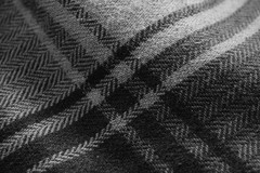 Pattern B&W (92/365) (seanbowes94) Tags: light white black macro thread clothing pattern 365 knitted stitched