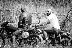friends (pippibu) Tags: friends portrait blackandwhite white black freedom rusty bikes bianco ritratto biancoenero libert evasione forevertwowheels