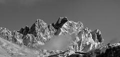 Torrecerredo (2.648m) (Jose Antonio. 62) Tags: blackandwhite bw españa snow mountains blancoynegro beautiful clouds photography spain nieve asturias nubes montañas picosdeeuropa torrecerredo
