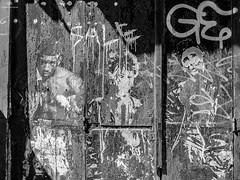 StreetArt Ste B&W . X20 . (FreeGuiGeek) Tags: street urban bw streetart france art wall painting graffiti paint noiretblanc grafiti tag nb spray fujifilm ste languedocroussillon hrault fujifilmx20