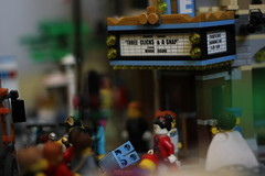 Rush in the Lego city (Jushpam) Tags: city movie lego theatre rush