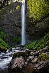 Latourell Falls (Alan Amati) Tags: water oregon waterfall rocks northwest falls pacificnorthwest columbiagorge basalt columbiarivergorge latourellfalls latourell amati lautrell columbiagorgehighway alanamati