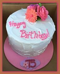 Flower cake by Amy, Northern Utah, www.birthdaycakes4free.com