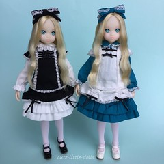 We are Little Ladies now🎵 (cute-little-dolls) Tags: twins doll dress dreaming littlelady petworks ruruko petworkscloset