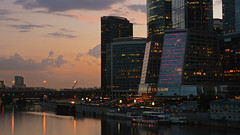 Moscow City (rubalanceman) Tags: city evening russia moscow moscowcity москва россия вечер москвасити