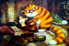 Nowy Dokument 12 (JustynaJustys) Tags: cartoons bajki draws rysunki cats koty