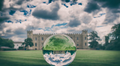 Syon House Through The Looking Glass by Simon & His Camera (Simon & His Camera) Tags: sphere orb syon syonhouse architecture london reflection building isleworth brentford grass cloud composition glass green iconic sky middlesex outdoor round simonandhiscamera syonhousepark syonpark vignette trees