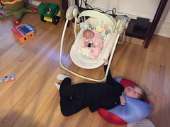 "Paul Rocks Dani in Her Swing • <a style=""font-size:0.8em;"" href=""http://www.flickr.com/photos/109120354@N07/33072162056/"" target=""_blank"">View on Flickr</a>"