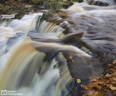 [Explored] Autumn, lower Crackpot Foss, Swaledale, Yorkshire Dales National Park. (Wend's photography) Tags: autumn autumnal britain dales england english exposure long longexposure landscape lee le northyorkshire northyorks national nature outdoor river scenery uk unitedkingdom waterscape waterfall water swaledale swale crackpot foss