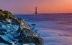 Morris Island Light - Charleston, SC (ArmyJacket) Tags: charlestonsc southcarolina sc lowcountry coast morrisisland atlantic ocean water outdoors sunrise beach island landmark lighthouse historic longexposure