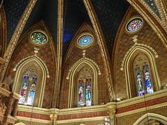 Teruel abside vidrieras Iglesia San Pedro 06 (Rafael Gomez - http://micamara.es) Tags: teruel abside vidrieras roseton iglesia san pedro vidriera
