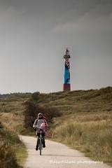 the lighthouse of Ameland (dewollewei) Tags: ameland wadden kunstweek lighthouse art kunst vuurtoren wad friesland hollum bycilce fiets fietsen cycle bycicle waddeneiland dewollewei duinen sea zee waddenzee