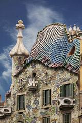 Casa Batlló 3 (Lily Arleo) Tags: barcelona batllo españa gaudí azul