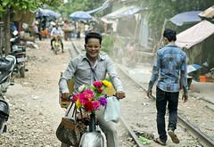 Chicko  romantico ,Phnom Penh (PawelBienkowski) Tags: cambodia romantic phnompenh shantytown cambodiapeople impressedbeauty slumpeople phnompenhslum asiaslum phnompenhpeople phnompenhrailway cambodiapoor