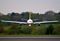 Monarch Airbus A330 G-SMAN (Dave McGlinchey) Tags: man manchester airport wings aircraft aviation jets jet airline monarch airbus passenger a330 ringway egcc