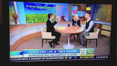 Flickr on Good Morning America (cindyli) Tags: flickr launch goodmorningamerica flickrlaunch