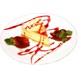 Ab's White Cheesecake