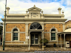 Walkerville Library (baytram366) Tags: old signs heritage stone architecture corner buildings lights sussex hotel hall store phone traffic terrace library south australia stephen shops adelaide council suburbs eastern walkerville drapers tce