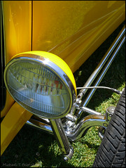 Yellow Chevy Hot! Rod TNT 2013' (Feist, Michael - FunnyFence - catchthefuture) Tags: ocean red ford beach yellow rock night truck sunrise island fire harbor waterfall concert funny surf waves wizard spirit stage ghost gig engine chevy friday tnt mack feist frisco subset doane