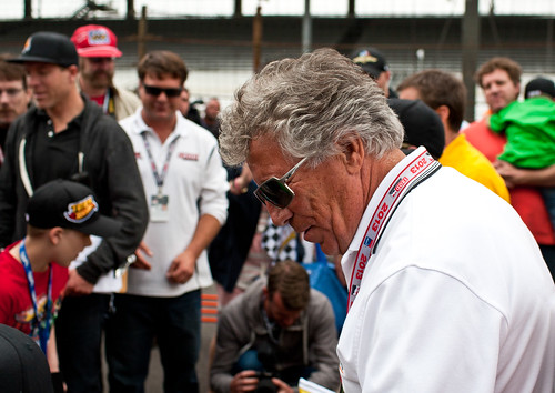 Mario Andretti @ Hot Wheels World Record Event (May 25, 2013)